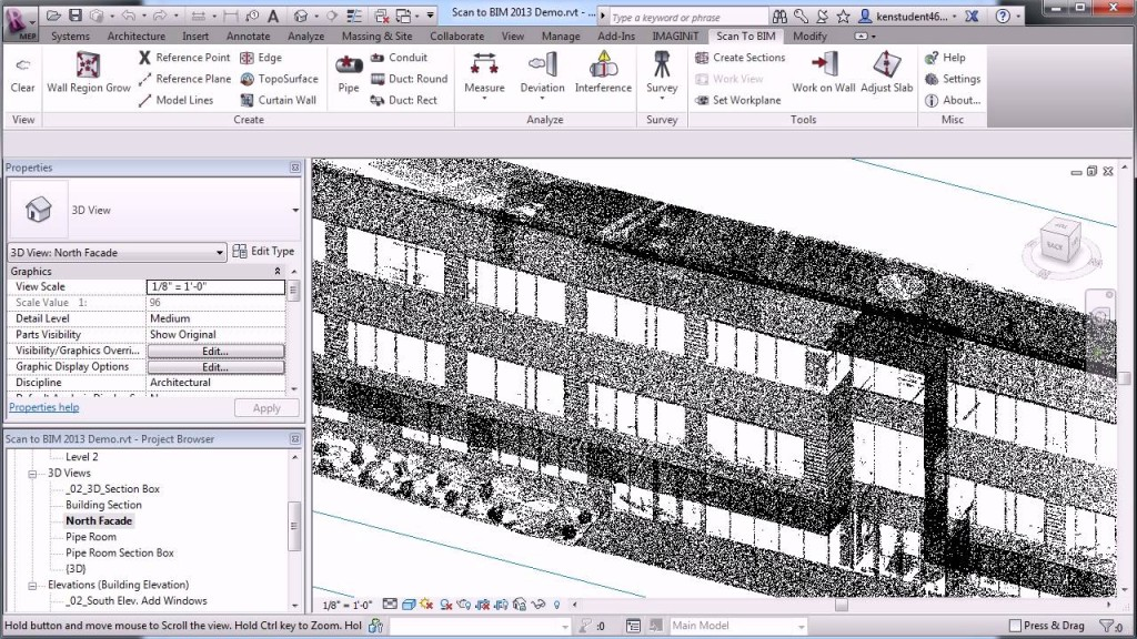 Laser Scan Example